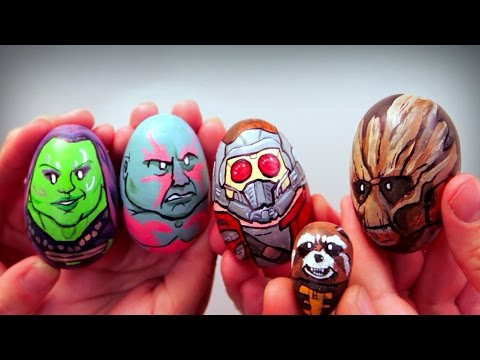 Awesome Easter Egg Art - AWE Me Artist Series
