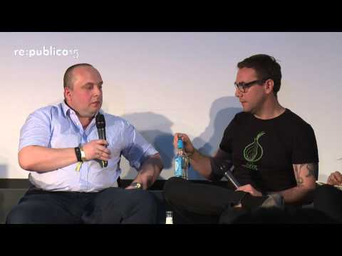 re:publica 2015 – Jacob Appelbaum, Max Hoppenstedt: Frontier of Freedom — The State of the Deepweb