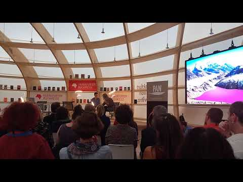 Video 2 von #ThinkUrsula auf der Frankfurter Buchmesse 2018.