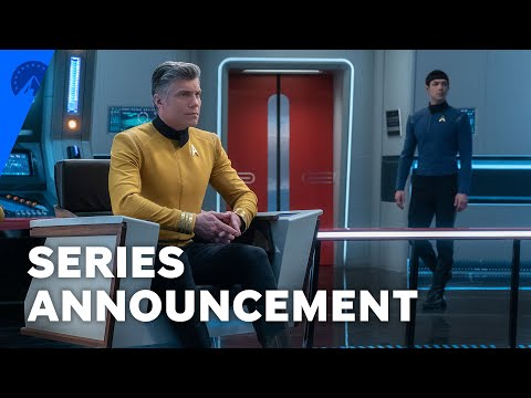 Star Trek: Strange New Worlds - New Star Trek Series To Follow Captain Pike, Spock, and Number One