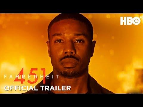 Fahrenheit 451 (2018) Official Trailer ft. Michael B. Jordan & Michael Shannon | HBO