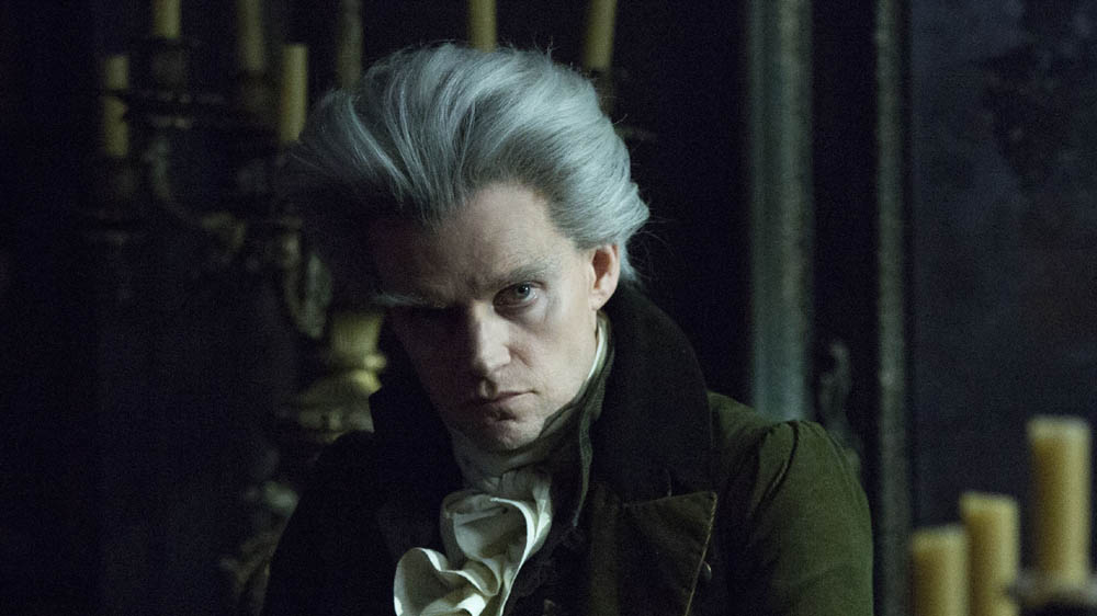 Programme Name: Jonathan Strange & Mr Norrell - TX: n/a - Episode: Ep2 (No. 2) - Picture Shows:  The Gentleman (MARC WARREN) - (C) JSMN Ltd - Photographer: Matt Squire